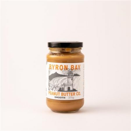 Byron Bay Peanut Butter Co Smooth 375g
