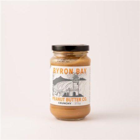 Byron Bay Peanut Butter Co Crunchy 375g