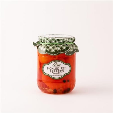 BJP Red Peppers 720g