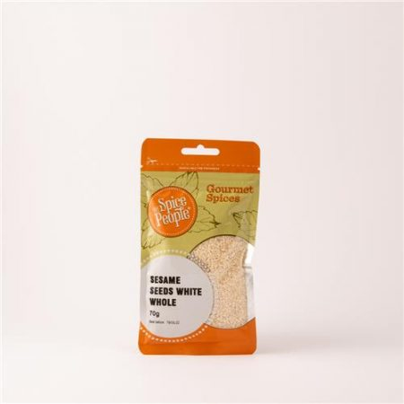 Sesame Seeds White Whole 70g