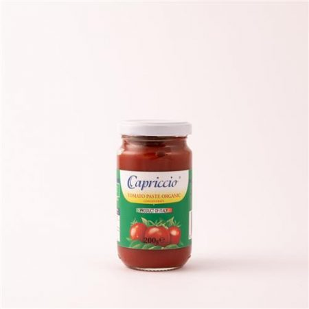Capriccio Organic Tomato Paste 200g