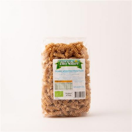 Bio Nature Organic Wholemeal Pasta Fusilli 500g