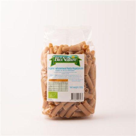 Bio Nature Organic Wholemeal Pasta Rigatoni 500g