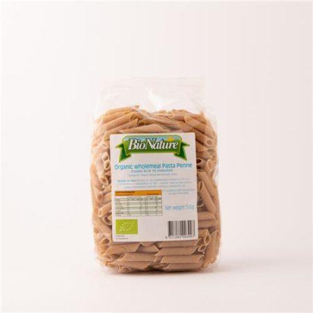 Bio Nature Organic Wholemeal Pasta Penne 500g