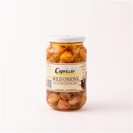 Capriccio Wild Onions in Sunflower Oil 550g
