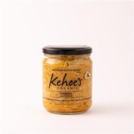 Kehoe's Organic Tumeric Sauerkraut 410g