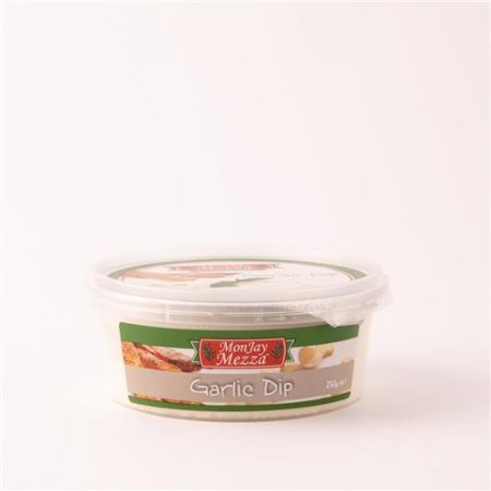 MonJay Mezza Garlic Dip 250g