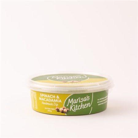 Marisa's Kitchen Roast Spinach & Macadamia Dip 200g