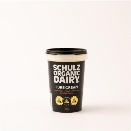 Schulz Organic Dairy Pure Cream 200g