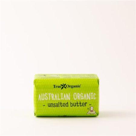 Australian Organic Unsalted Butter 250g