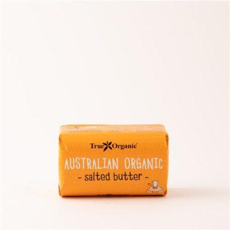 Australian Organic Salted Butter 250g