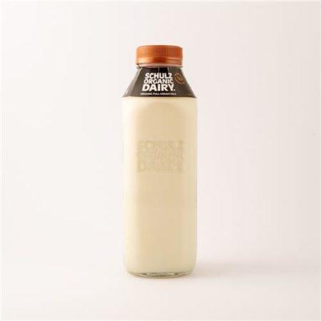Schulz Organic Dairy Milk Glass Bottle 1L