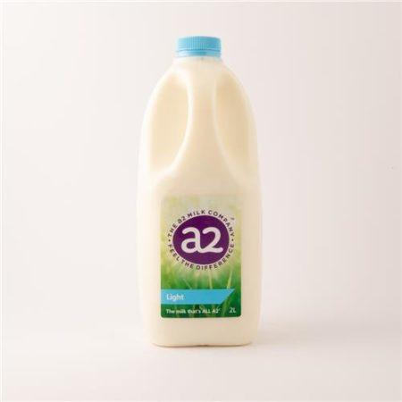 A2 Light Milk 2L