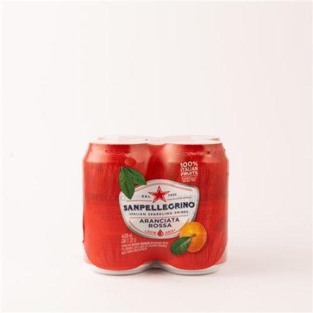 San Pellegrino Aranciata Rossa 4x330ml Can
