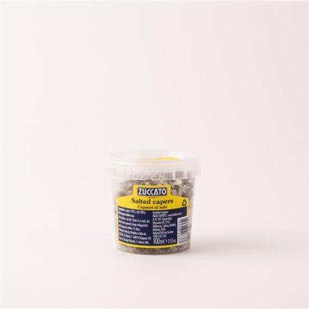Zuccato Capers In Salt 100g