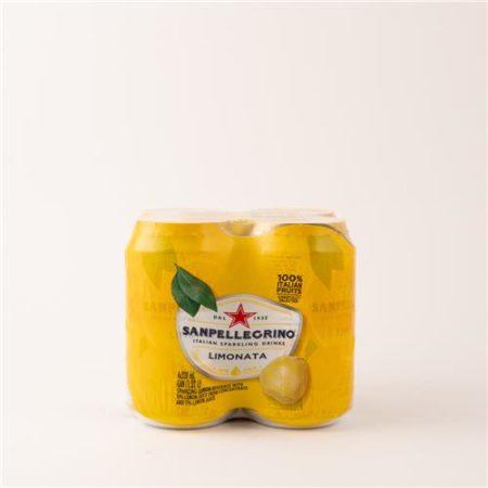 San Pellegrino Limonata 4x330ml Can