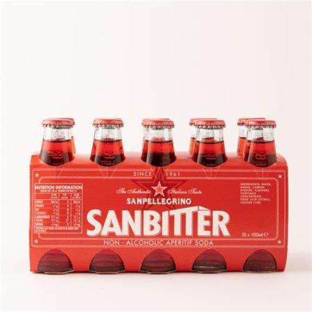 San Pellegrino Sanbitter 10x100ml Bottle