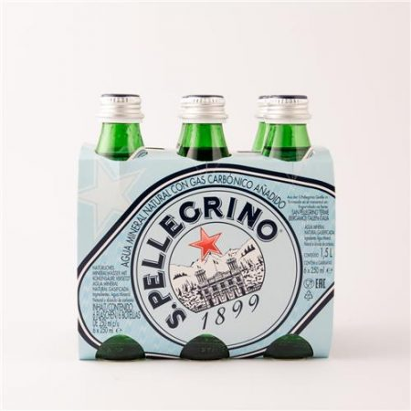 San Pellegrino Mineral Water 6x250ml Bottle