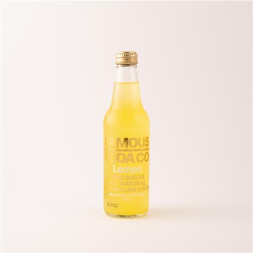 Famous Soda Co Lemon 330ml