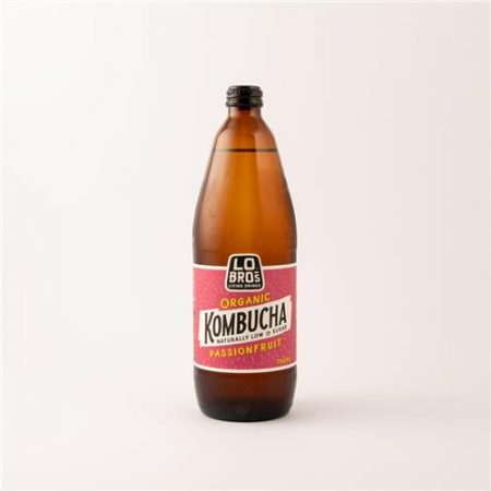 Lo Bros Kombucha Ginger & Lemon 330ml