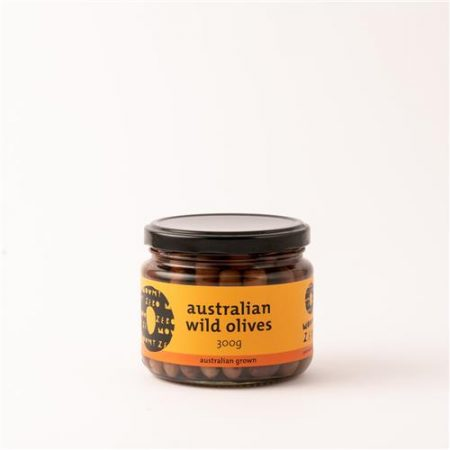 Mt Zero Australian Wild Olives 300g