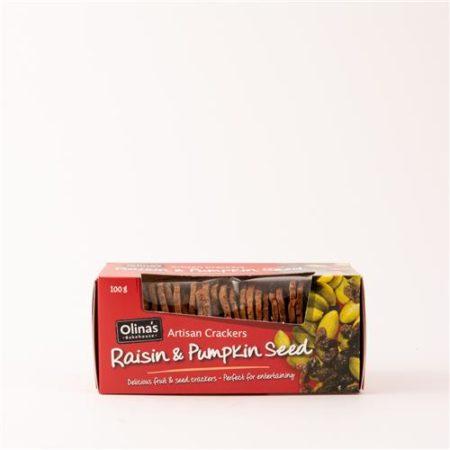 Olinas Raisin & Pumpkin Seed 100g