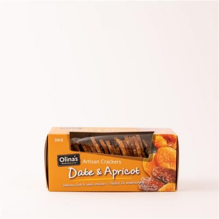 Olinas Date & Apricot Cracker 100g