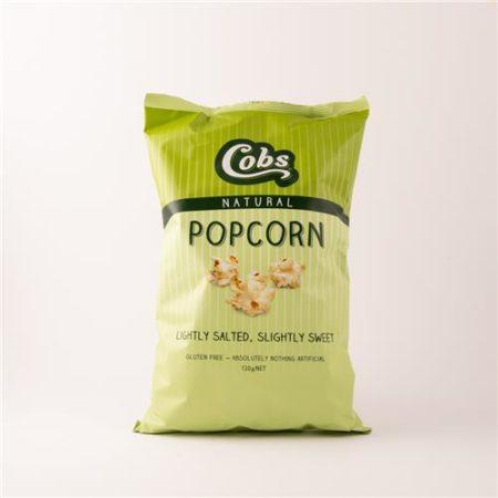 Cobs Popcorn Lightly Salted, Slightly Sweet 120g