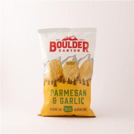 Boulder Canyon Parmesan & Garlic Chips 142g