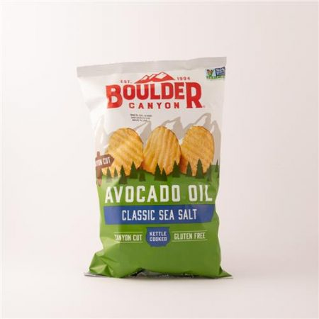 Boulder Canyon Avocado Oil Classic Sea Salt Chips 142g