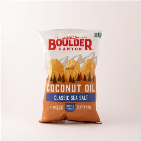 Boulder Classic Sea Salt Coconut Oil Chips 148g