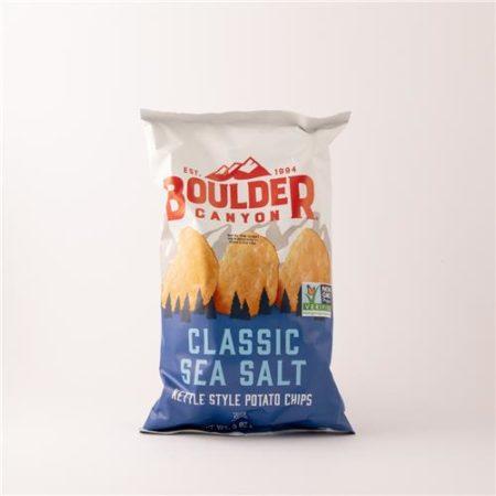 Boulder Classic Sea Salt Chips 141.8g