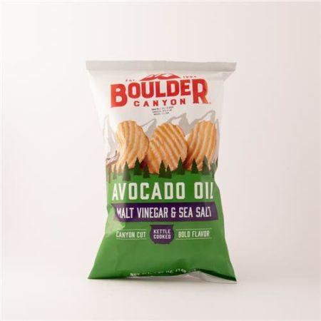 Boulder Malt Vinegar & Sea Salt Avocado Oil Chips 148g