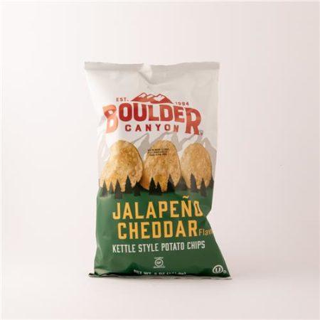 Boulder Jalapeno Chedar Chips 141g