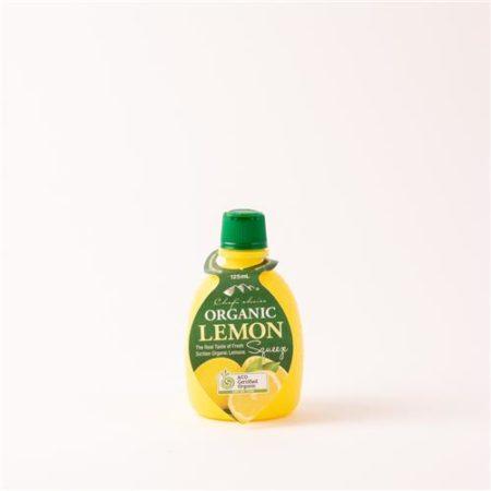 Chef's Choice Organic Lemon Juice 125ml