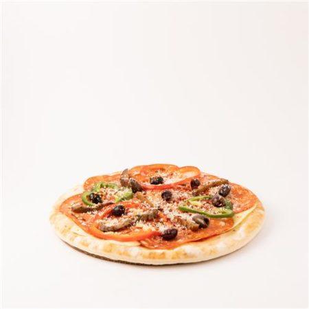 Hot Salami Pizza