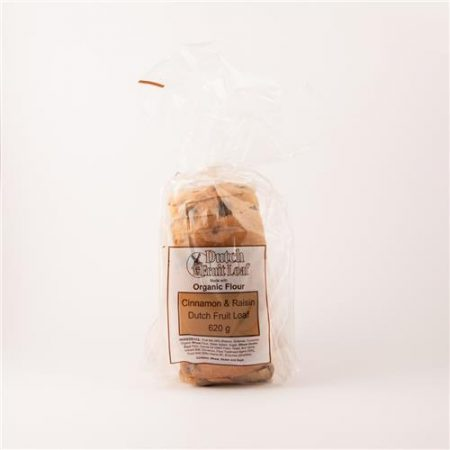 Dutch Fruit Loaf Cinnamon & Raisin 620g
