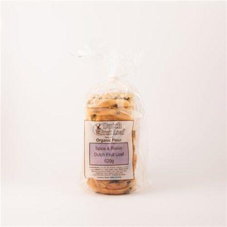 Dutch Fruit Loaf Spice & Raisin 620g