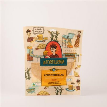 La Tortilleria Corn Tortillas 8 pack