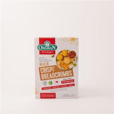 Orgran Rice Crispi Breadcrumbs 300g