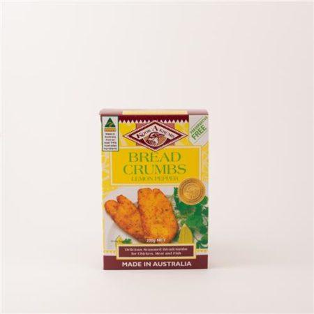Kooka Krumb Breadcrumbs Lemon Pepper 200g