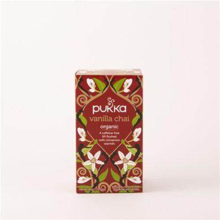 Pukka Vanilla Chai Tea Organic 20 Tea Sachets