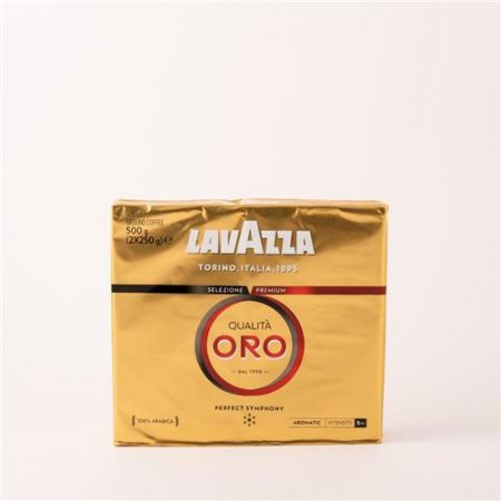 Lavazza Gold Twin Pack Ground Coffee 2x250g