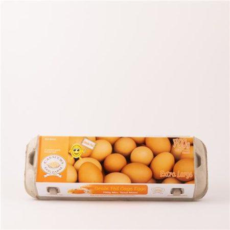 Casaccio Eggs Grain Fed 700g