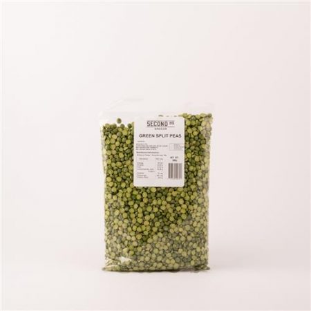 Second Ave Green Split Peas 500g