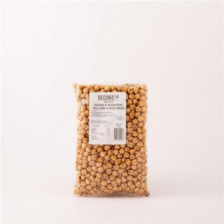 Second Ave Double Rosated Yellow Chickpeas 375g