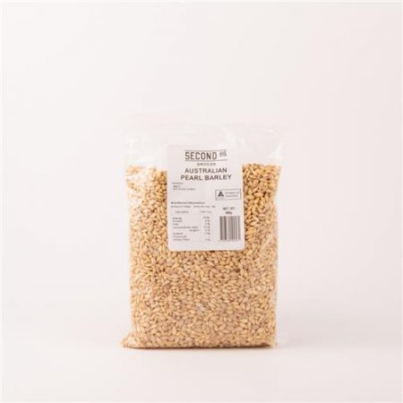 Second Ave Australian Pearl Barley 500g