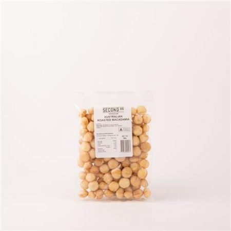 Second Ave Roasted Macadamis 200g