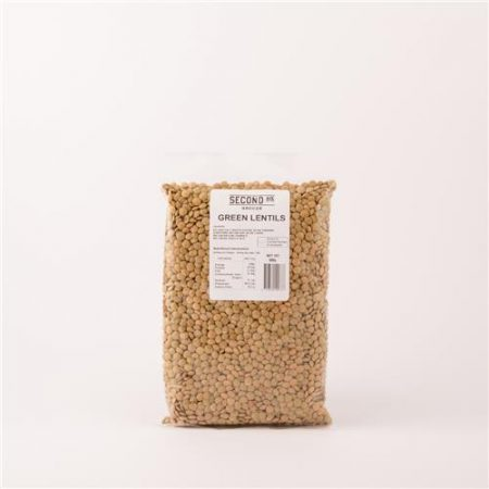 Second Ave Green Lentils 500g