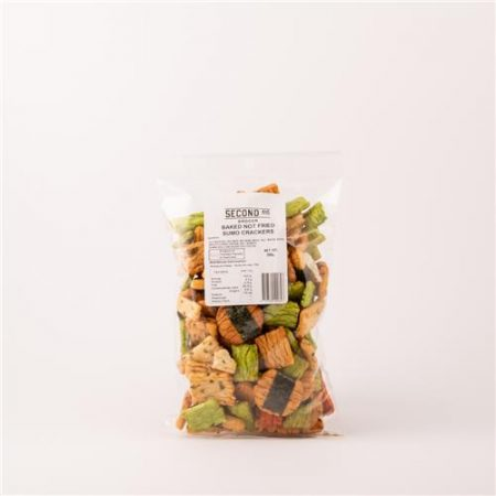 Second Ave Baked Not Fried Sumo Crackers 200g